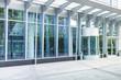 Leinwanddruck Bild - Eingang - modernes Gebäude - Deutschland