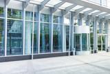 Eingang - modernes Gebäude - Deutschland