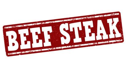 Beef steak stamp