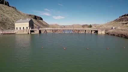 Historic Diversion Dam near Boise Idaho