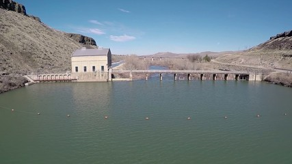 Boise River and diversion Dam