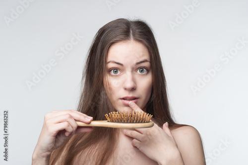 Hair loss - 79863252