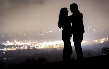 la silueta del amor