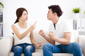 Quarrel between girlfriend and  boyfriend