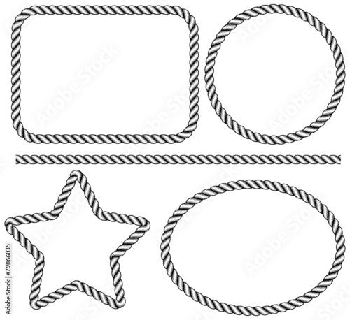 rope frame - 79866035