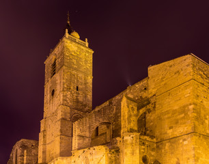 Belfry of the Saint Paul Basilica in Narbonne - France, Languedo