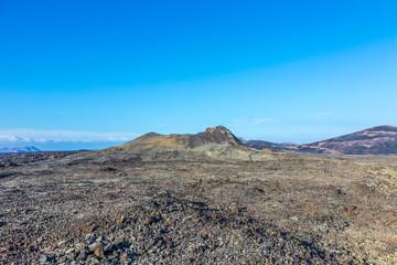 volcano Montana Colorada in Lanzarote, Tinajo