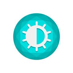 Vector Diamond Button