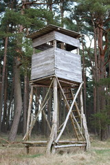 Hochsitz, Ansitz / Raised Hide