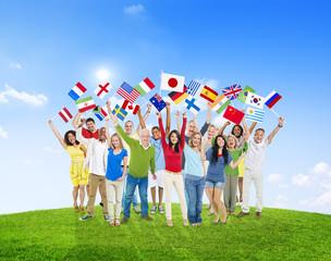Diverse Diversity Ethnicity Variation Unity Togetherness Concept
