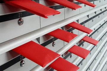 Letterboxes and red envelopes