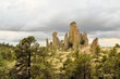 Chimney rock monoliths in Valley of the Monks, Creel, Mexico