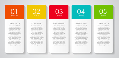 Infographic Design Elements for Your Business Vector Illustratio