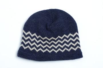 ウールの帽子