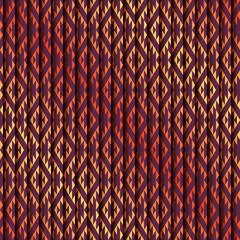 Geometric traingles pattern with strikes.