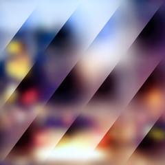 Square blurred background