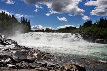 mighty rapids in Norway