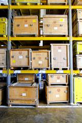Museum crates