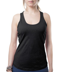 girl wearing black top
