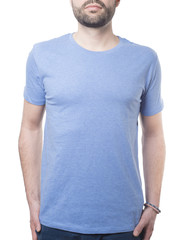 male upper body and shirt