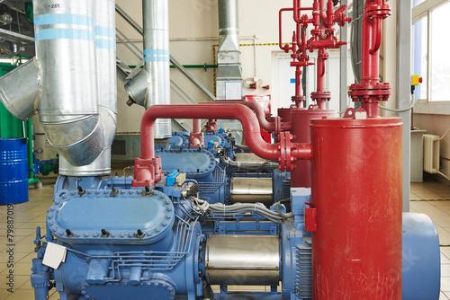 industrial compressor station