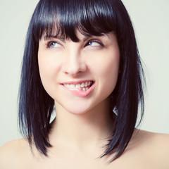 Портрет красивой молодой сексуальной женщины.