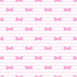 Tile vector pattern  bows on pink and white stripes background