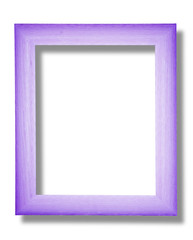 Violet and white frame