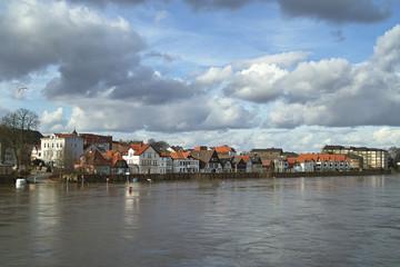 Weser-Hochwasser-Minden