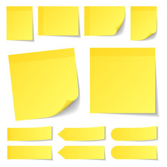 Stick Notes Set Yellow