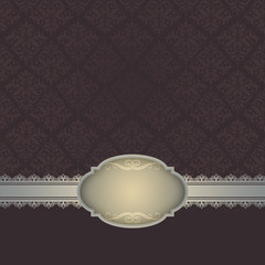 Decorative background with vintage patterns.