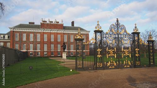 Leinwanddruck Bild Palais de Kensington - Londres