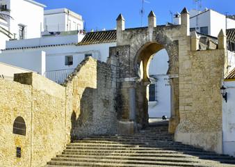 Puerta árabe del S.X. en Médina-Sidonia.Cádiz.España