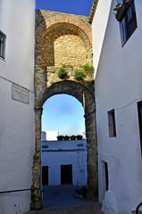 Arco de Sancho IV. Vejer de la Frontera. Cádiz