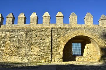 Murallas de Vejer de la Frontera.cádiz. España