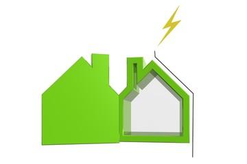 Beveilig je huis tegen bliksem inslag