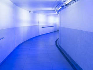 urban metro passage