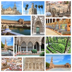 Sevilla collage