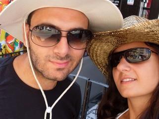giovane coppia in vacanza
