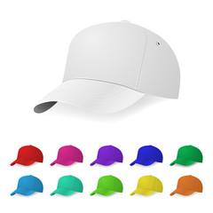 Baseball cap templates
