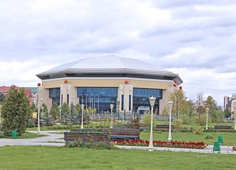 The basketball Palace in Kazan