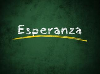 Esperanza, Hoffnung