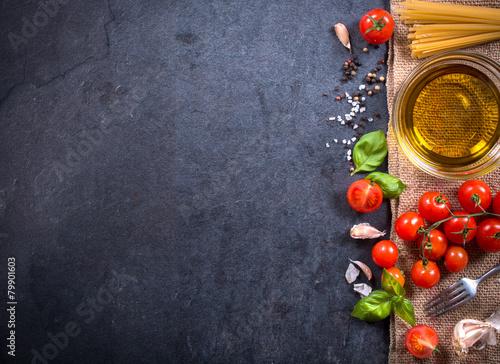 Fotobehang Eten Cooking concept