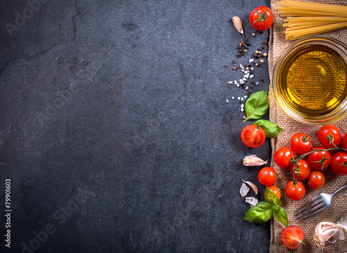 Foto op Canvas Eten Cooking concept