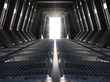 Leinwanddruck Bild - Futuristic interior