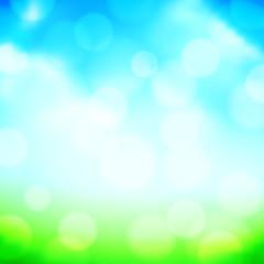 Blured Spring Background