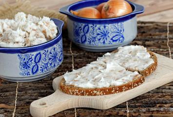 Brot mit Griebenschmalz