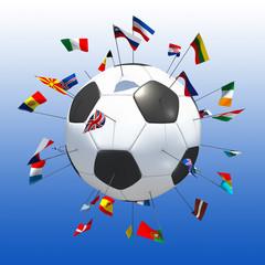 football europe bleu
