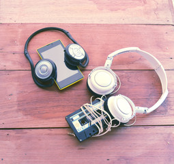 smart phone Bluetooth headset cassette tape and wire head set