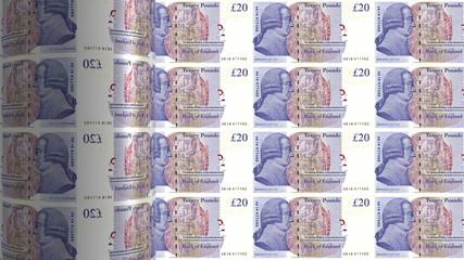 british pound sterling printing